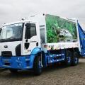 Coleta de lixo restaurante
