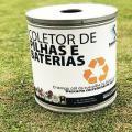 Coleta de residuos contaminados