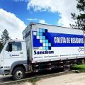Coleta e transporte de residuos quimicos