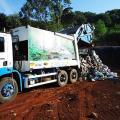 Destino de residuos sólidos