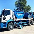 Transporte e coleta de residuos