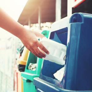 Coleta de lixo reciclavel