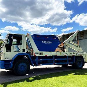 Coleta e transporte de residuos solidos