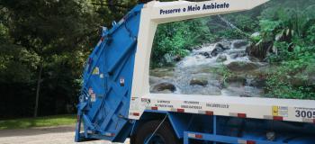 Empresa de coleta de lixo de restaurante