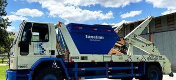 Empresa para coleta de residuos